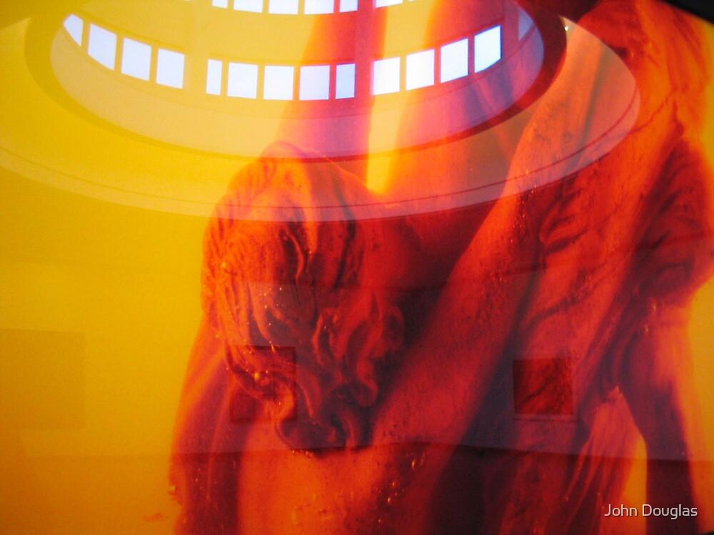 Kneeling Figure, Bergen, Norway by John Douglas