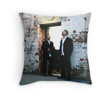 Groom and Bestman  Throw Pillow