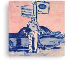 Roadside Portrait Canvas Print