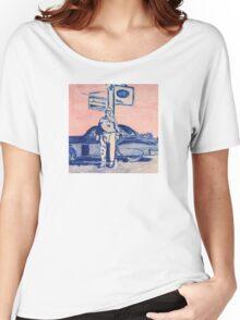 Roadside Portrait Women's Relaxed Fit T-Shirt