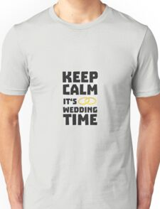 wedding time keep calm Rw8cz Unisex T-Shirt