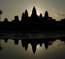 Angkor Wat by Samuel Tonin