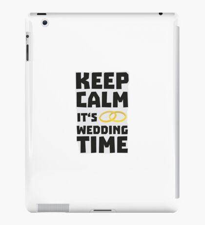 wedding time keep calm Rw8cz iPad Case/Skin