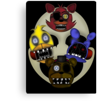 Five Nights at Freddy's 2 Canvas Print