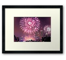 Boston, MA July 4th Pops Fireworks Spectacular! Framed Print
