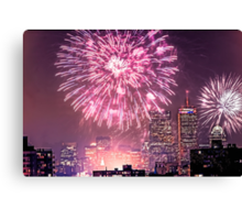 Boston, MA July 4th Pops Fireworks Spectacular! Canvas Print