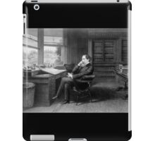 Portrait of Charles Dickens in His Study iPad Case/Skin