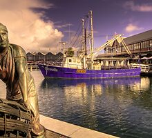 Fishing Boat Harbour - Fremantle  WA by Frank Moroni