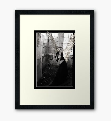 Struggle Framed Print