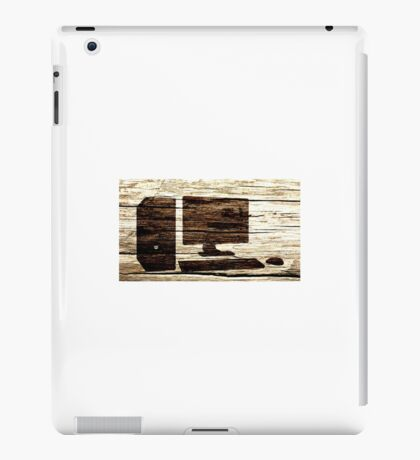 Wooden Computer iPad Case/Skin