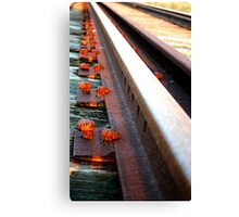 Abandoned Track Canvas Print
