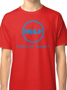 Funny Dell Parody Logo Computer Tech Support Classic T-Shirt