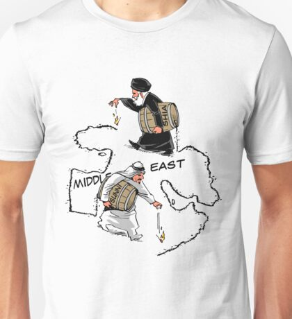 Middle East carousel Unisex T-Shirt