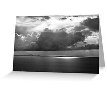 Stormclouds Over Gulf Greeting Card