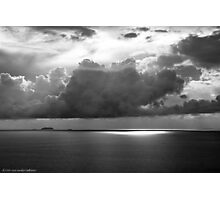 Stormclouds Over Gulf Photographic Print