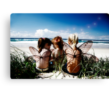 Soon you'll have your wings Canvas Print