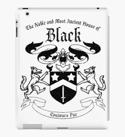 House of Black family crest - Sirius Black, Harry Potter iPad Case/Skin