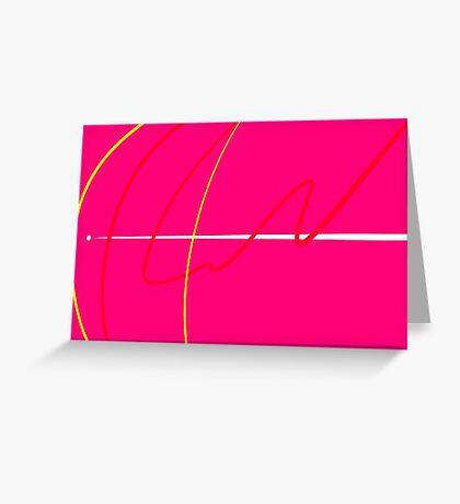 Energy Rush I Greeting Card