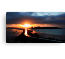 Island Hill Sunrise Canvas Print