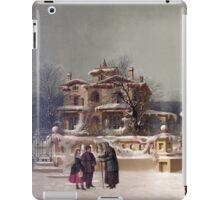 American Winter Scene iPad Case/Skin