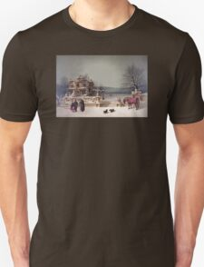 American Winter Scene T-Shirt