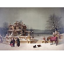 American Winter Scene Photographic Print