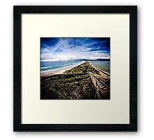 The Neck, Bruny Island Framed Print