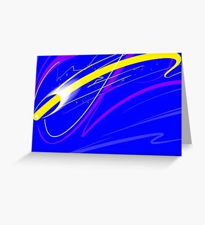 Energy Rush II Greeting Card