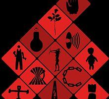 Depeche Mode : Logo Tribute by Luc Lambert