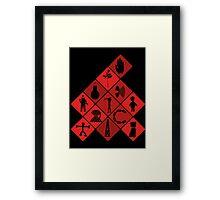 Depeche Mode : Logo Tribute Framed Print
