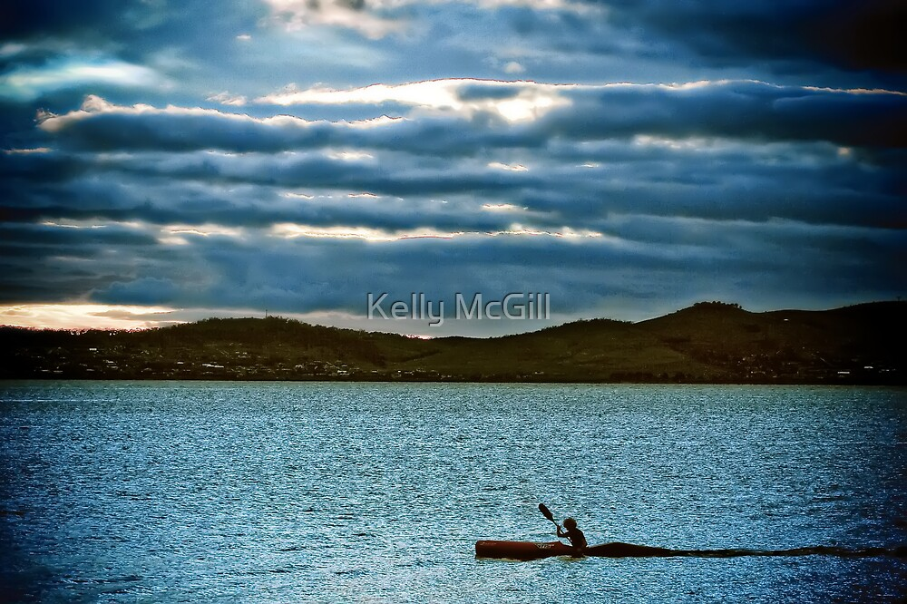 Derwent River Kayak by Kelly McGill