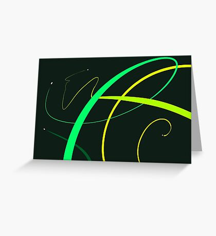 Energy Rush VI Greeting Card