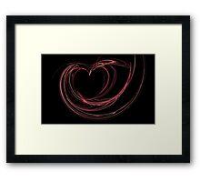 My Fragile Heart Framed Print