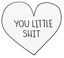 You Little Shit.  by haillefaith