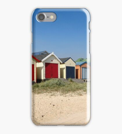 Chelsea Beach Huts iPhone Case/Skin