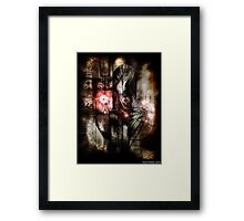 matters construction Framed Print