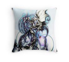 water elemental Throw Pillow
