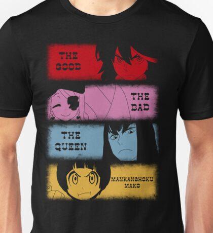 The good, The Bad, The Queen & Mankanshoku Mako Unisex T-Shirt