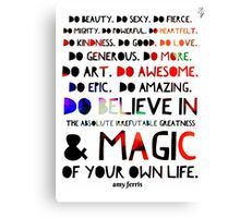 Do ...  Canvas Print
