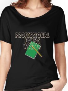 Professional Fanfic Writer Women's Relaxed Fit T-Shirt