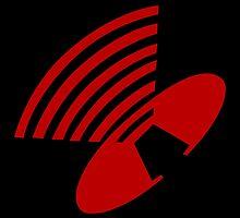 Depeche Mode : Behind The Wheel - Logo - Red by Luc Lambert