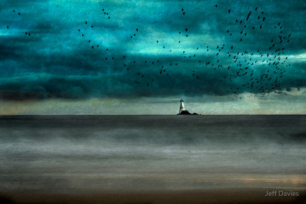 The lighthouse by Jeff Davies