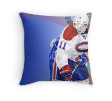 A very talented hockey player from Montreal Throw Pillow