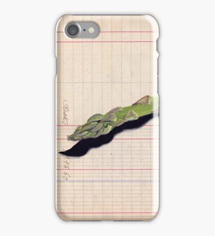 Asparagus in Gouache iPhone Case/Skin