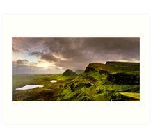 Where Land Meets Skye - Isle of Skye Panorama Art Print