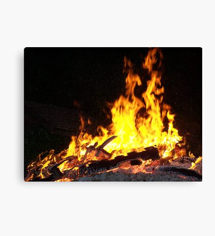 Stock for Firey Visions Canvas Print