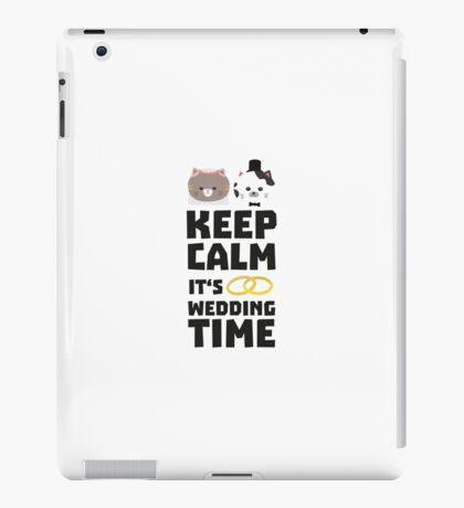 wedding time keep calm Ritj0 iPad Case/Skin