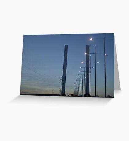 Bolte Bridge Greeting Card