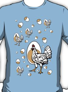 Retro Roseanne Chickens T-Shirt