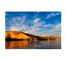 The Great Western Desert - Egyptian Landscape Art Print
